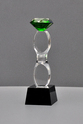 Color Diamond Crystal Trophy