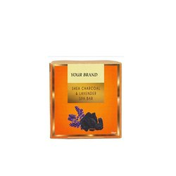 Shea Charcoal And Lavender Spa Soap Bar