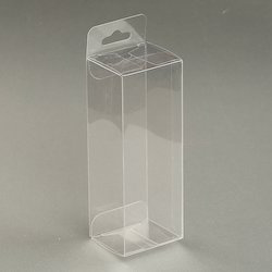 Rushabh Files Rectangular White Polypropylene Plastic Transparent Packaging Boxes
