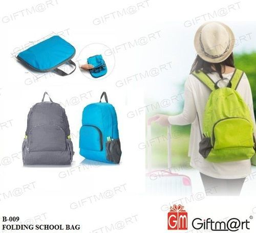 Giftmart Nylon Foldable Lightweight Waterproof Travel Backpack Bag