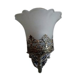 Fancy One Bulb Wall Mount Light