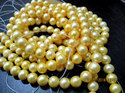 Genuine Pearl Gold Beads