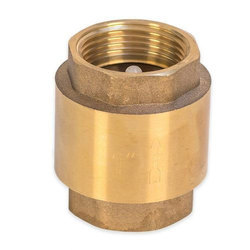 Matrix Brass Spring Vertical Check Valve, Valve Size: 1 Inch, Packaging Type: Box