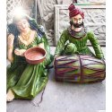 Decorative Handicraft Rajasthan Couple Statue