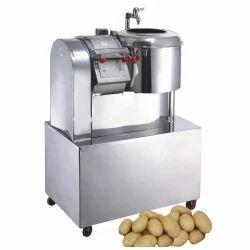 Semi Automatic Potato Cutting & Slicing Machine