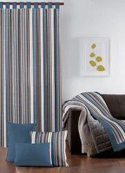 Designer Stripe Yarn Dyed Curtain