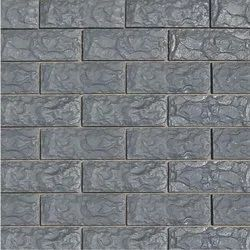 Grey Matt Delhi Stone Wall Cladding, Slab, Thickness: 5-10 mm