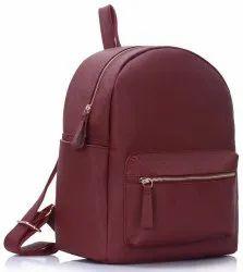 Polyurethane College Backpack