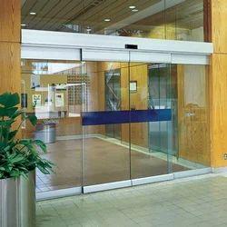 Automatic Glass Sliding Door
