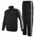 Adidas Men's Black Tracksuit