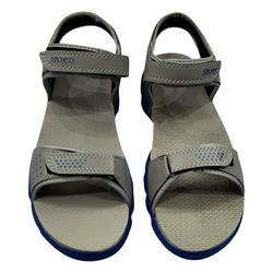 Casual Grey PU Leather Sandal