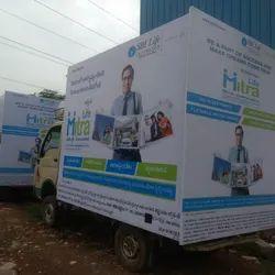 Mobile Banner Van Advertising Service