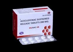 Aceclofenac Sustained Release 200mg Tablets