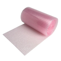 Kiwi Pink , White Antistatic Air Bubble Sheet Roll, Size/dimension: 12