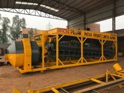 Fully Automatic Mobile Concrete Batching Plant/ Compact Batching Plant/ Reversible Drum Mixer
