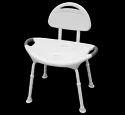 Mobilita Shower Chair - Comforta (backrest And Anti-slip Handle) M405