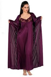 Ladies Dark Purple Nighty