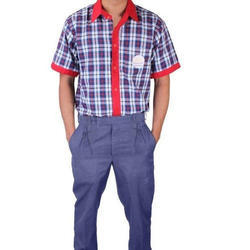 Summer Cotton Boys School Uniform
