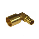 Brass Pex Male Sweat Elbow, Size: 1/4 Inch And 1 Inch