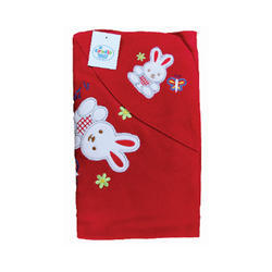 Embroidered Fleece Baby Blankets