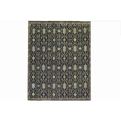 Traditional Serapi Hand Knotted Carpet For Living Room