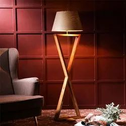 Infinity Wooden Floor Lamp
