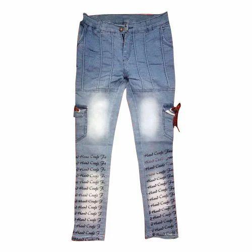 134cf1f870 Denim Party Wear Kids Pocket Funky Jeans