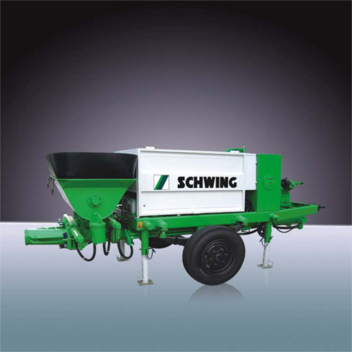 BP 350 XT Schwing Concrete Pump - Schwing Stetter (India) Private