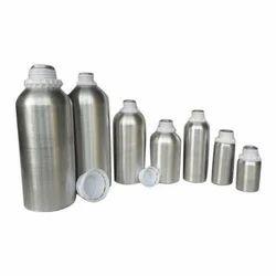 Silver Aluminium Bottles