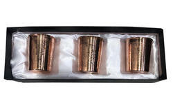 CopperKing Gift Set Embossed Glass Pack Of 3