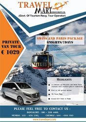 Exclusive Swiss Paris Private Van Tours