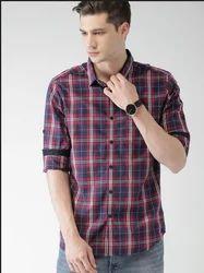 Men Printed Collar Casual Shirt
