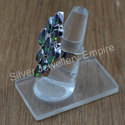 Beautiful Mystic Topaz Gemstone Jewelry 925 Silver Ring