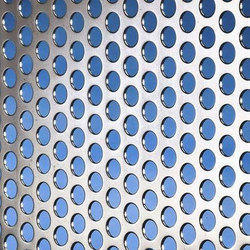 Round Holes Perforated Sheet