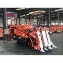 Track Type Mini Combine Harvester Half Feed Model No-Os-4lbz-120