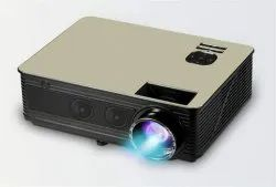 MYRA M5 HD, 4000 Lumens Android LED Projector with Wi-Fi, Bluetooth,