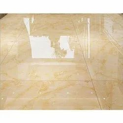 Gloss Glossy Floor Tiles, Thickness: 8-10 MM