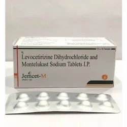 Levocetirizine Dihydrochloride And Montelukast Sodium Tablets IP
