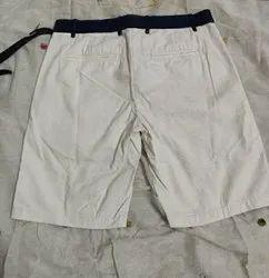 Regular Thigh Length Men Cotton Shorts