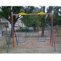 MS Blue Playground Swing