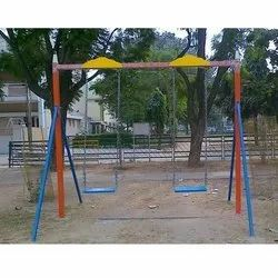 MS Blue Playground Swing