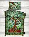 Ombre Tree Mandala Printed Single Size Duvet Cover