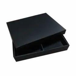 Square Black Corporate Gift Box