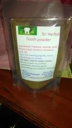 Natural Sri Herbal Tooth Powder, Bottle, Packaging Size: 50g