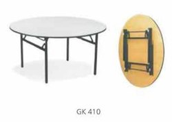 Banquet Tables Gk 410, Seating Capacity: 4-5 Feet Dia