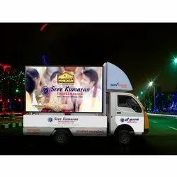 Advertising LED Van Rental Services