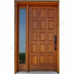 Solid Wood Polished Designer Doors