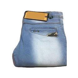 Mens Casual Regular Fit Denim Jeans