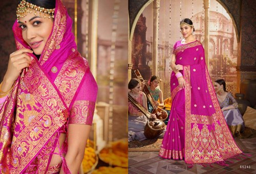 Designer Silk Wedding Wear Sarees