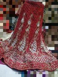 Handwork Embroidery Bridal Lehenga